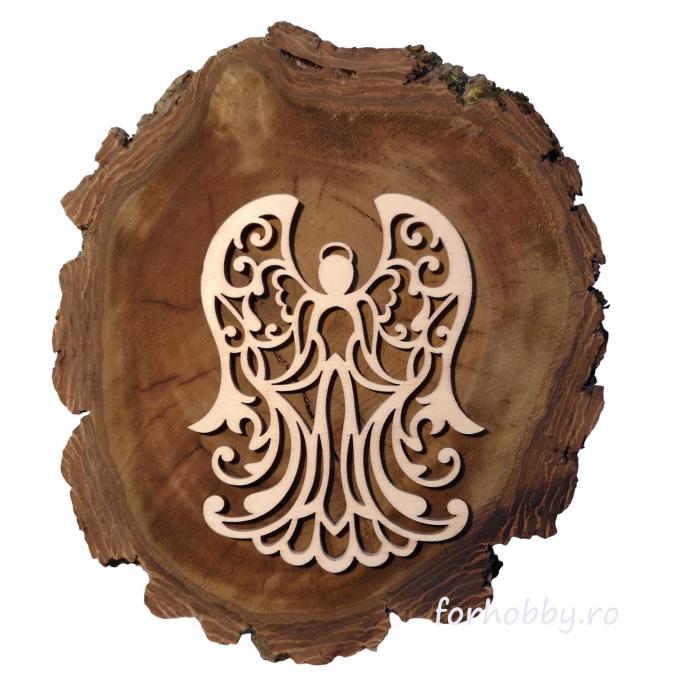 figurina-lemn-inger-12x9,5cm-cutcat 0