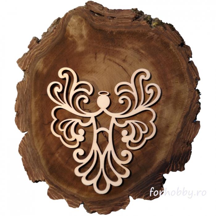figurina-lemn-inger-12,5x10,5cm-cutcat 0