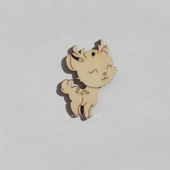 Figurina din lemn - Caprioara 0