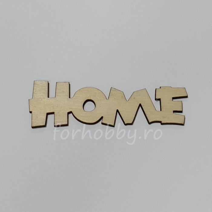 Figurina din lemn - Home 0