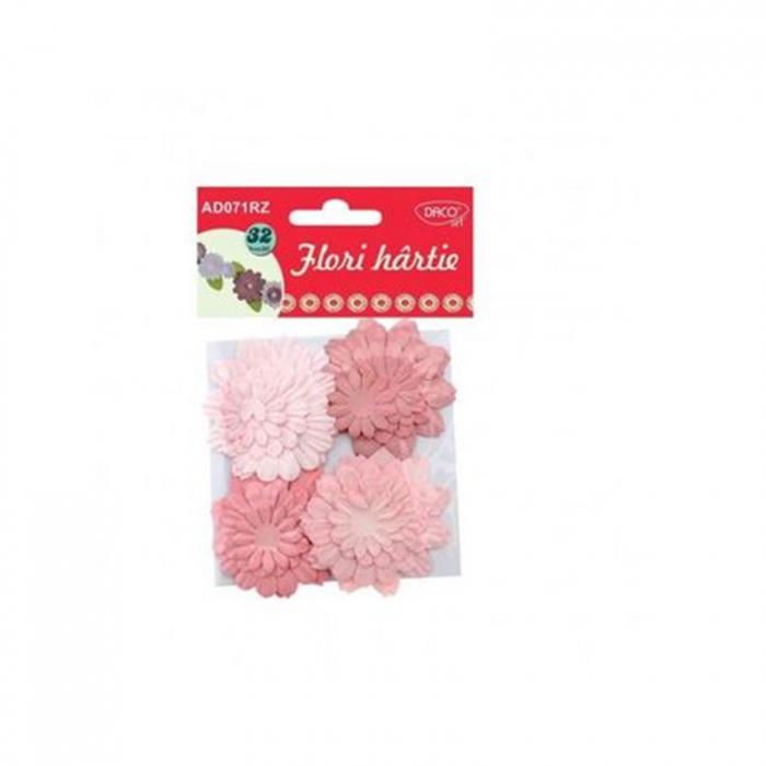 Flori din hârtie - Roz 0