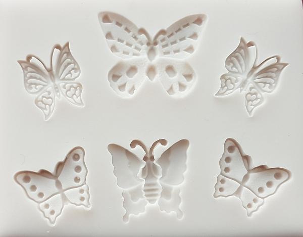 Mulaj din silicon - Fluturi 0