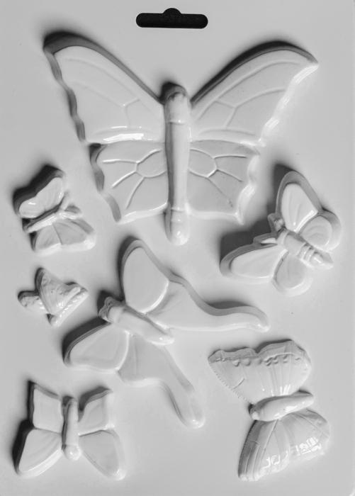 Matrita pentru turnat - Fluturi 0