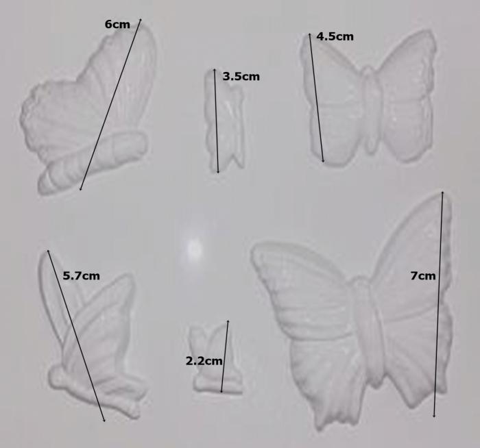Matrita pentru turnat - Fluturi 1