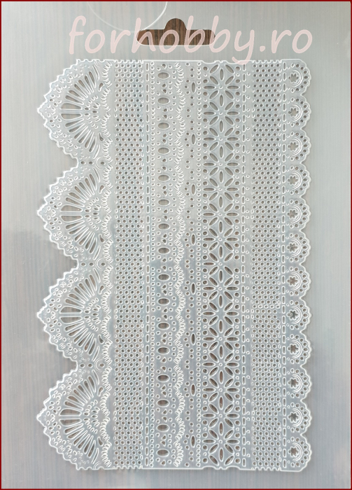 Foaie texturata Stamperia - Dantela 0