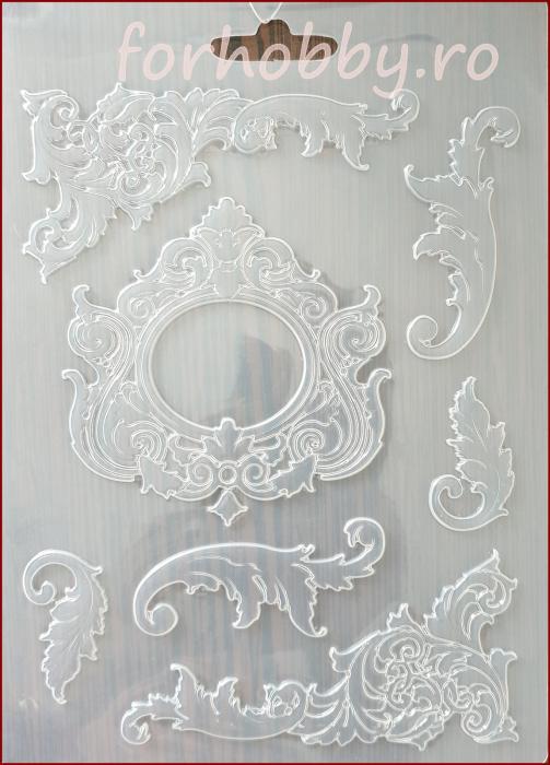 Foaie texturata Stamperia - Ornamente 0