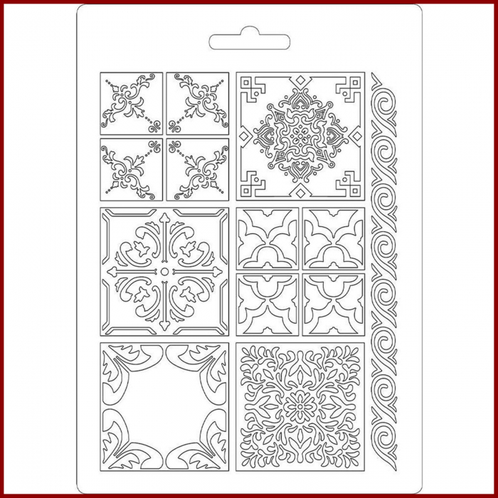 Foaie texturata Stamperia - Placi ceramica 1