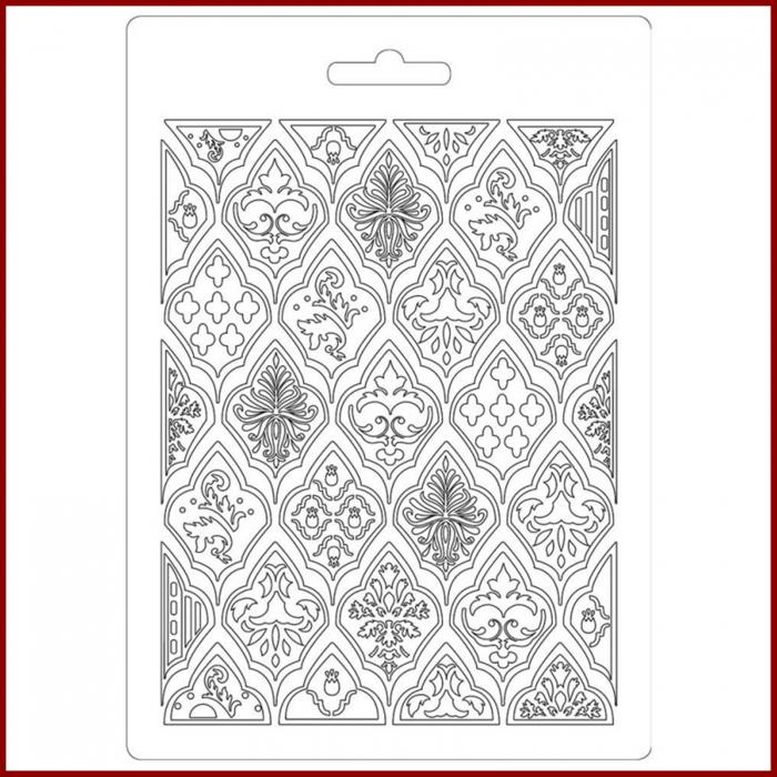 Foaie texturata Stamperia - Romburi 1