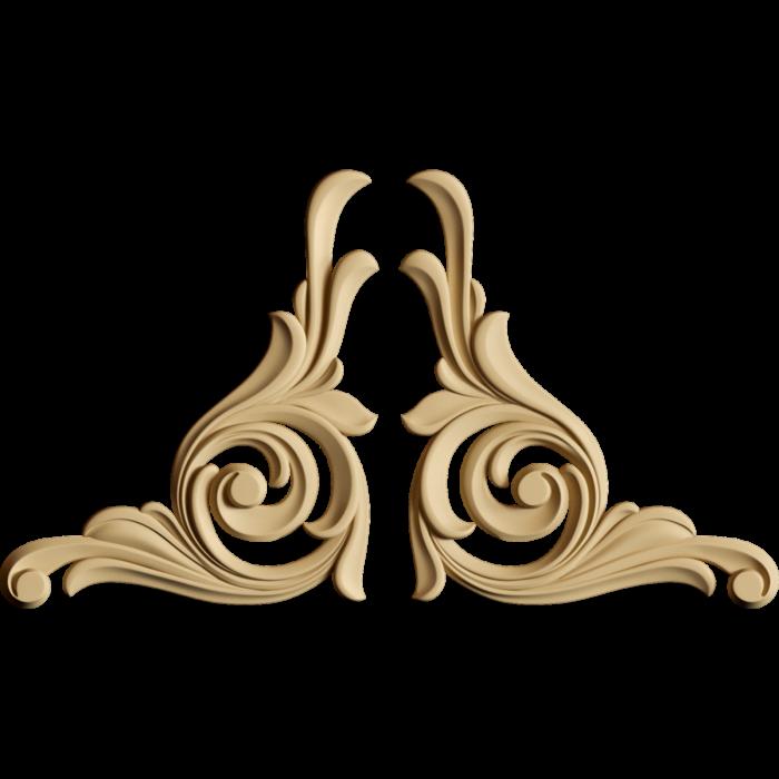 Forma decorativa din  MDF 2