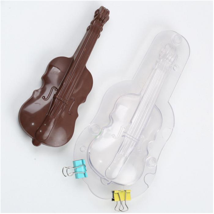 Forme 3D pentru figurine din ciocolata - Vioara 0