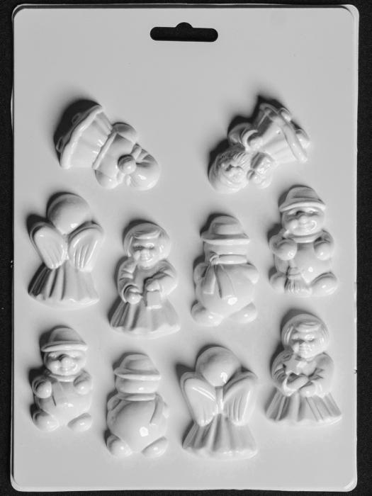 Matrita pentru turnat - Figurine 3D 0
