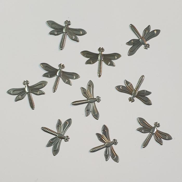 Forme metalice embosaste - Set 10 libelule