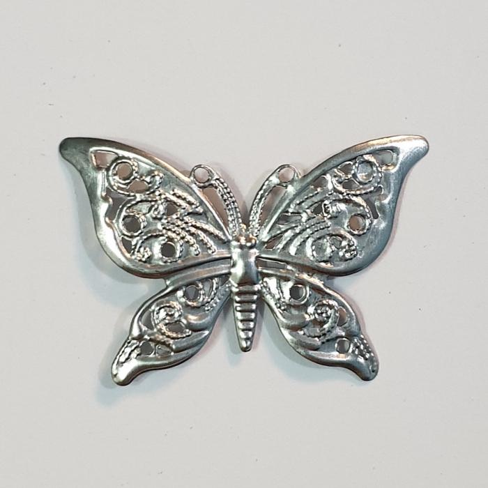 Forme metalice embosaste - Set 3 fluturi