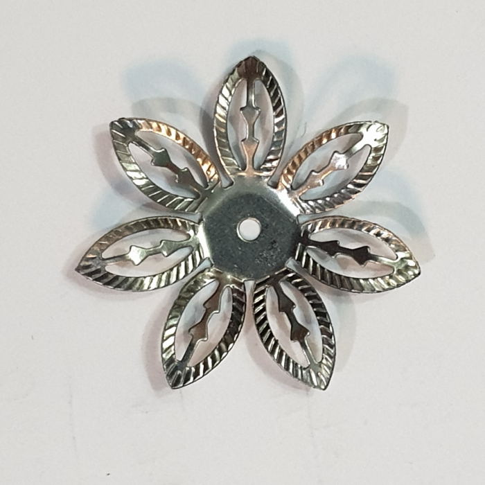 Forme metalice embosaste - Set 5 flori