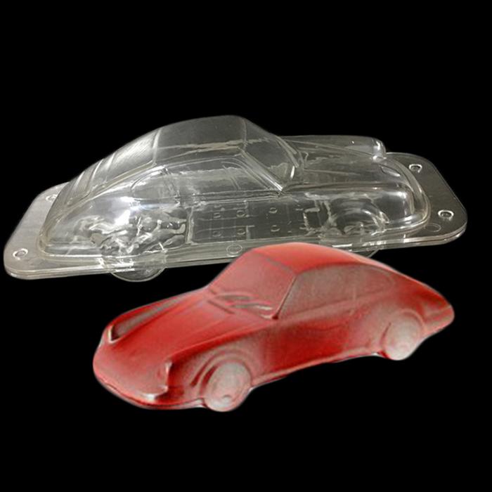 Forme 3D pentru figurine din ciocolata - Masina 3