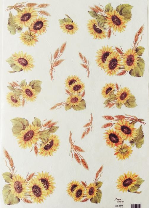 hartie-de-orez-decomania-floarea-soarelui-5018 0