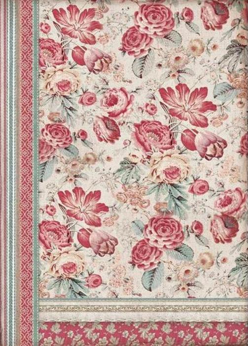 hartie-de-orez-stamperia-tapet-cu-flori-rosii-dfsa3040 0