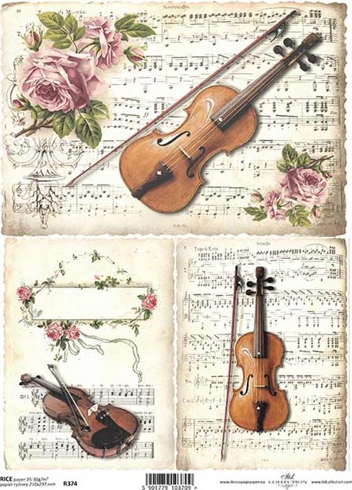 hartie-de-orez-vioara-si-partitura-itd-collection-r374 0