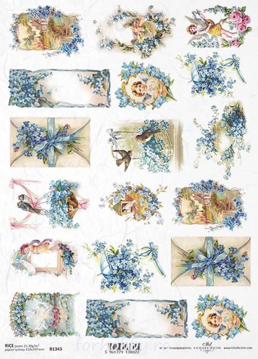 hartie-de-orez-albastrele-itd-collection-r1343 0