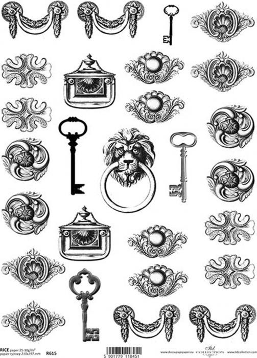 hartie-de-orez-accesorii-decorative-itd-collection-r615 0