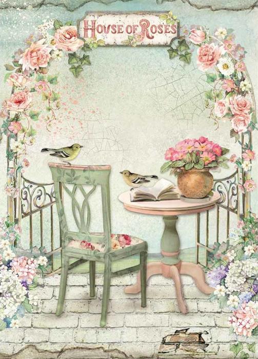hartie-de-orez-a4-stamperia-house-of-roses-dfsa4449 0