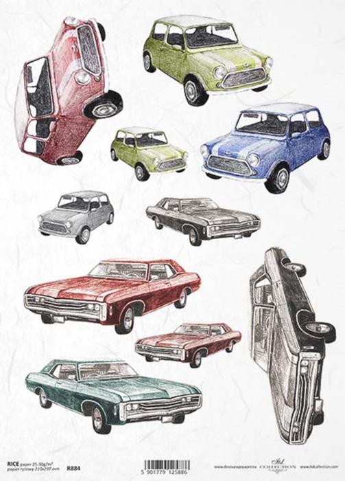 hartie-de-orez-masini-de-epoca-itd-collection-r0884 0