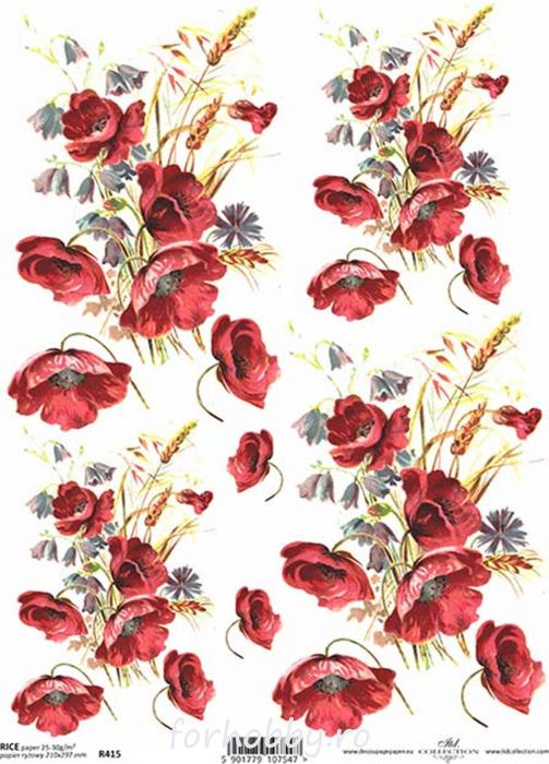 hartie-de-orez-flori-de-maci-itd-collection-r0415 0