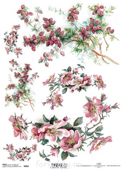hartie-de-orez-floare-de-maces-itd-collection-r0964 0