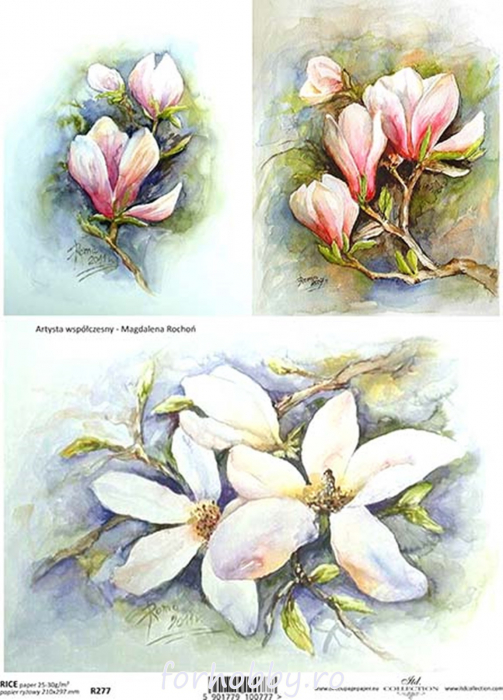 hartie-de-orez-magnolie-itd-collection-r0277 0