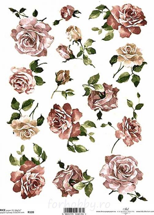 hartie-de-orez-trandafiri-itd-collection-r120 0