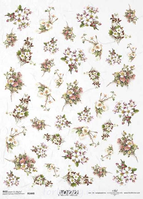hartie-de-orez-flori-itd-collection-r1448 0