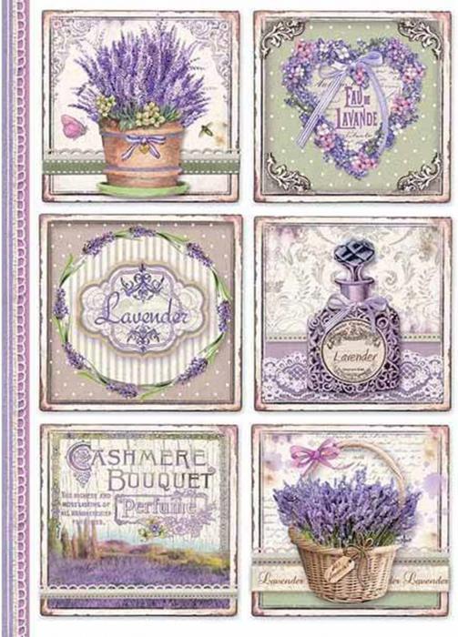 hartie-de-orez-a4-stamperia-parfum-de-lavanda-dfsa4366 0