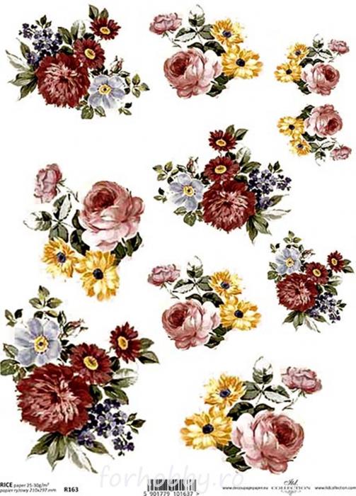 hartie-de-orez-flori-itd-collection-r0163 0