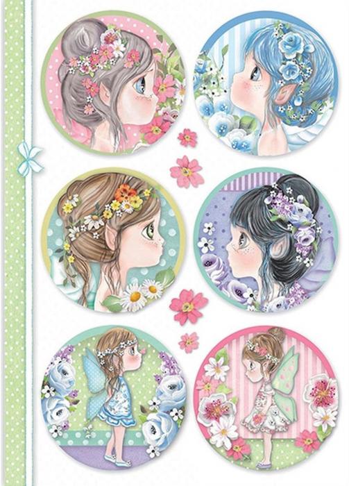 hartie-de-orez-a4-stamperia-little-fairies-dfsa4414 0