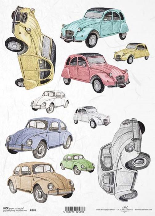 hartie-de-orez-masini-de-epoca-itd-collection-r0885 0