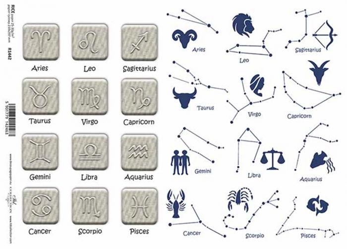 hartie-de-orez-zodiac-itd-collection-r1442 1