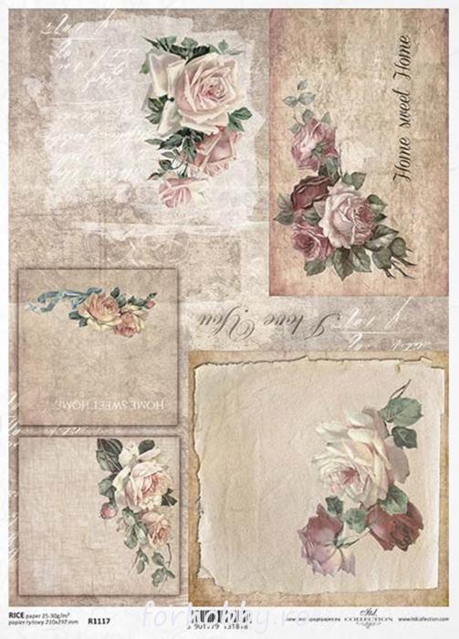 hartie-de-orez-trandafir-itd-collection-r1117 0