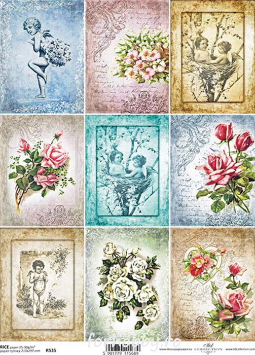 hartie-de-orez-trandafiri-si-ingerasi-itd-collection-r535 0