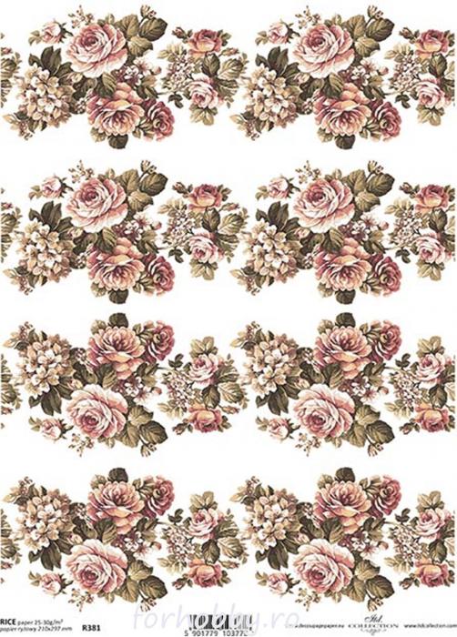 hartie-de-orez-trandafiri-itd-collection-r0381 0