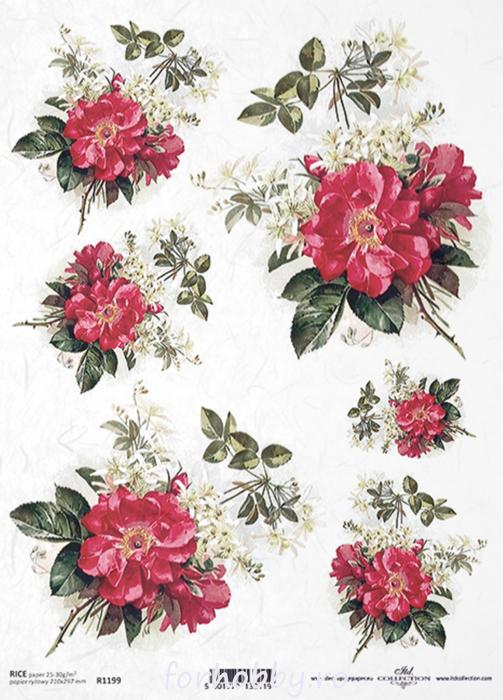 hartie-de-orez-trandafir-itd-collection-r1199 0