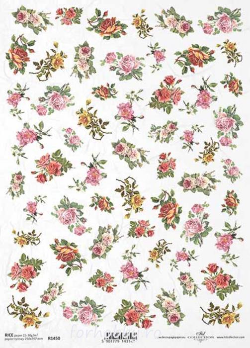 hartie-de-orez-trandafir-itd-collection-r1450 0