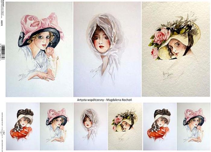 hartie-clasica-decupaj-60g-a4-itd-collection-portrete-d0372m 0