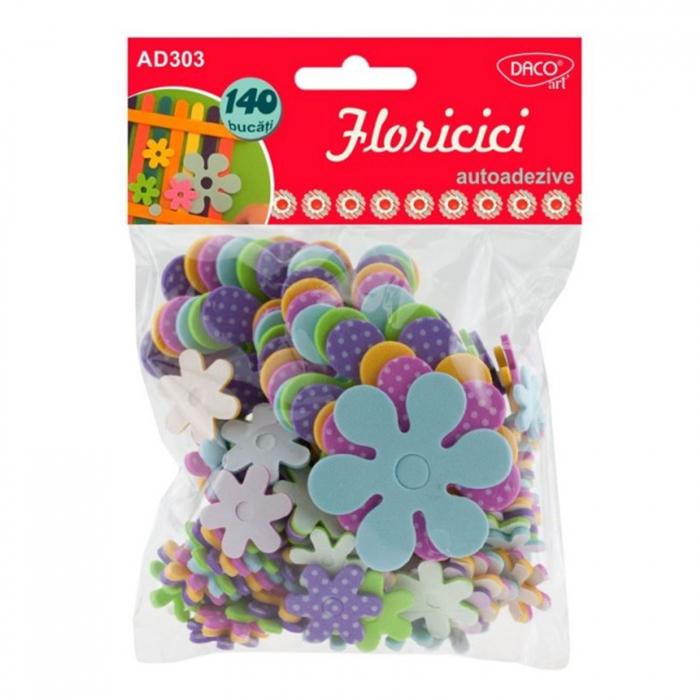 figurine-spuma-autoadeziva-floricici-daco-ad303 0