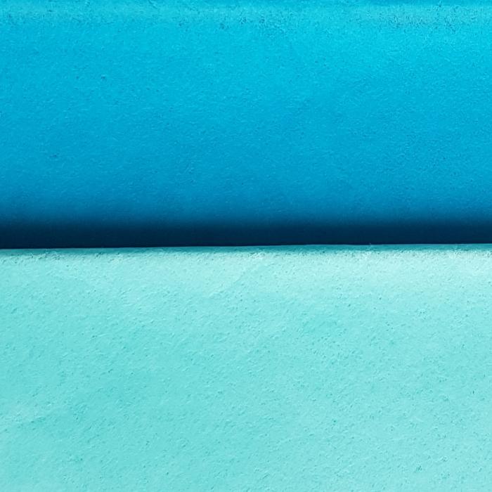 Hartie de matase, coala 50x70 cm, albastru florida 1