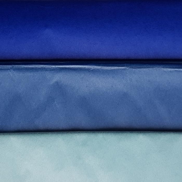 Hartie de matase, coala 50x70 cm, albastru pastel 1