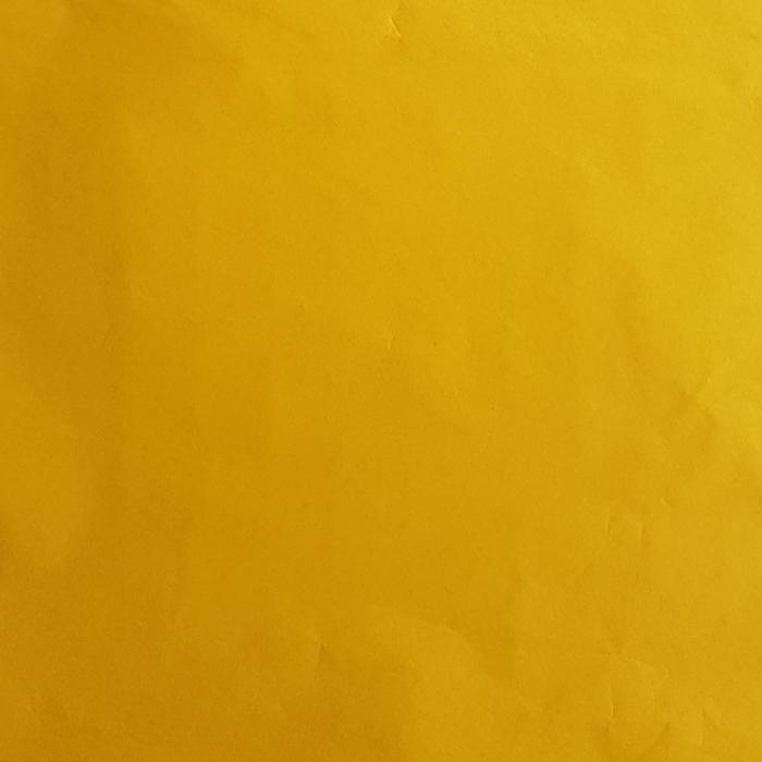 Hartie de matase, coala 50x70 cm, galben soare 0