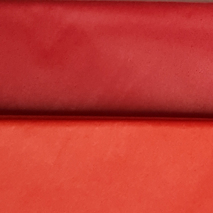 Hartie de matase, coala 50x70 cm, rosu permanent 1