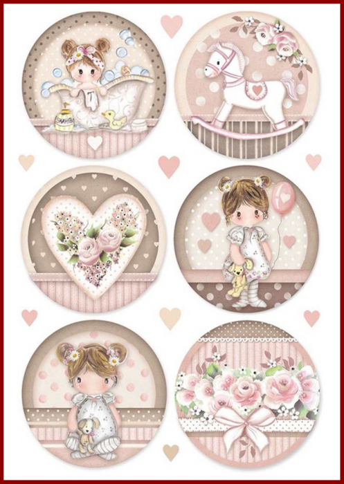 hartie-de-orez-a4-little-girl-dfsa4451 0