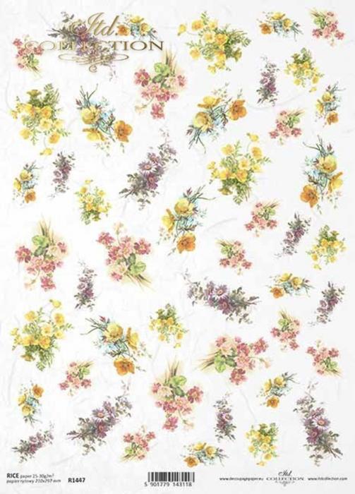 hartie-de-orez-flori-itd-collection-r1447 0