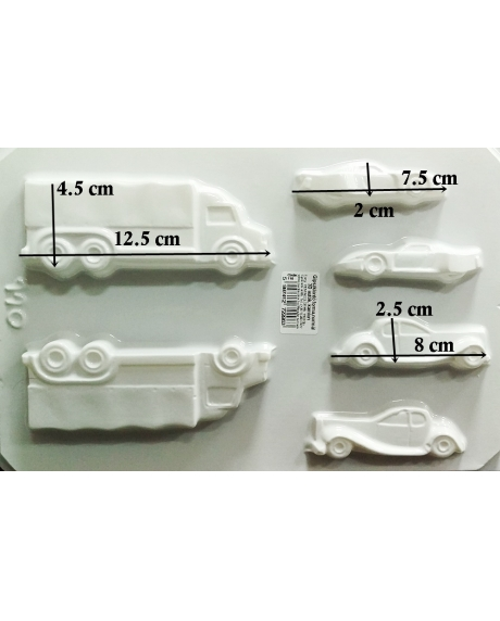 Matrita pentru turnat - Mijloace transport 3D